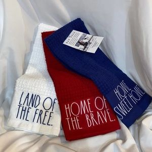 Rae Dunn 4th of July Dish Kitchen Towels